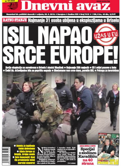 ISIL NAPAO SRCE EVROPE!
