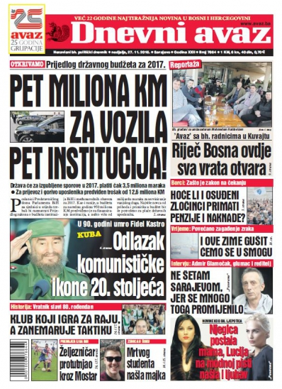 PET MILIONA KM ZA VOZILA PET INSTITUCIJA!
